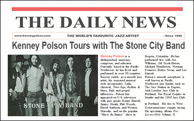 Kenney Polson Tours with The Stone City Band