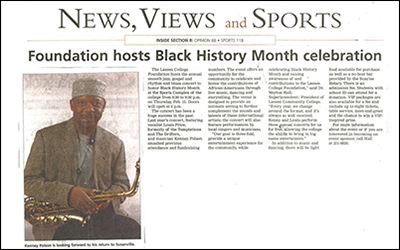 """Foundaton hosts Black History Month celebration"""